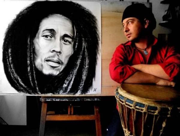 Bob Marley par albertino